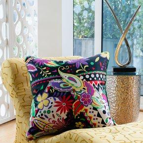 Zinnia-Fronde_Vintage-Cushions_Treniq_0