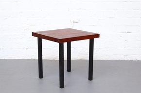 Small Midcentury Solid Teak Side Table