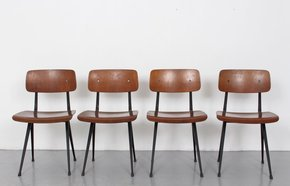 Set Of Four Friso Kramer Result Chairs