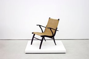 Rattan Chair For V&D With Black Frame