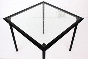 Black Metal Table By Flyline