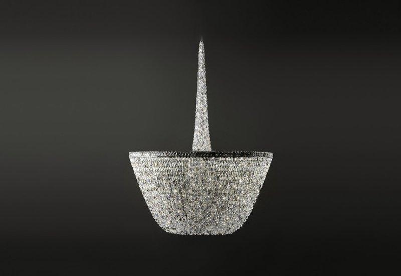 Pure white chandelier cryst treniq 1