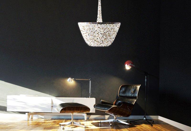 Pure white chandelier cryst treniq 4