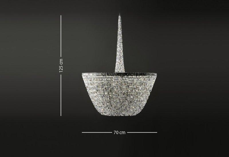 Pure white chandelier cryst treniq 5