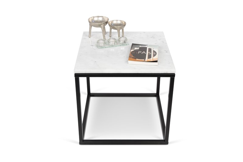 d6556daf094 Prairie Side Table With White Marble 50 Contemporary by Tema Home ...