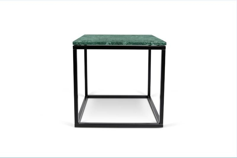 3e6881af020 Prairie Green Marble Small Coffee Table With Black Legs 50 ...