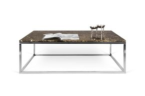 Prairie-Brown-Marble-Coffee-Table-With-Chrome-Legs-120_Tema-Home_Treniq_0