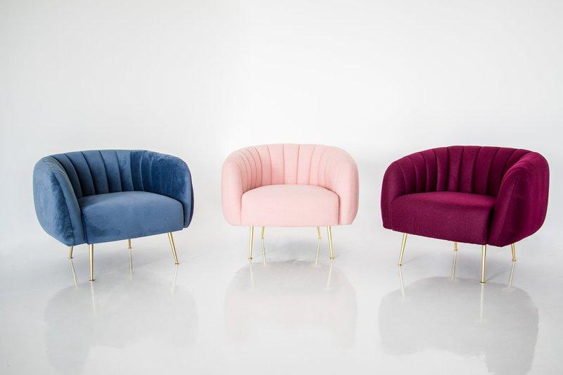 Glamorous chair   dusky blue velvet calvers   suvdal treniq 1 1530899087360