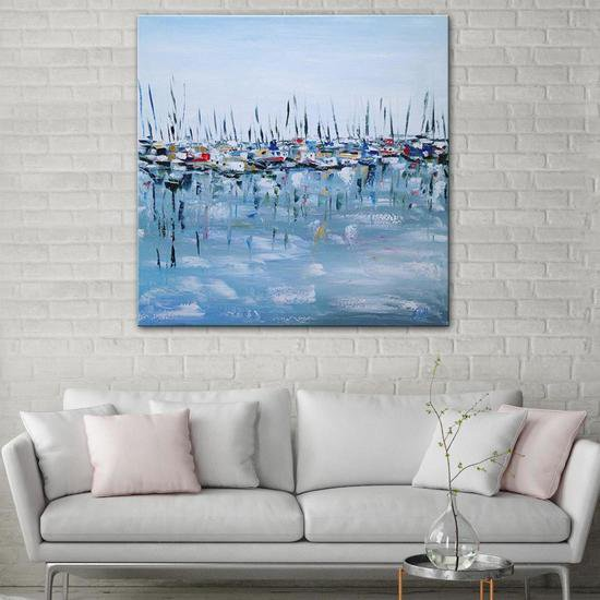 Marina bay painting by emma bell united interiors treniq 1 1531099331555