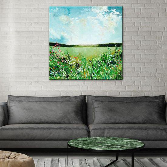 The spring fields painting by emma bell united interiors treniq 1 1531100197547