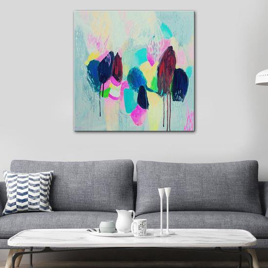 Pop rocks painting by julie robertson united interiors treniq 1 1531100690263