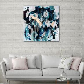 The-Blue-Brass-Painting-By-Julie-Robertson_United-Interiors_Treniq_0