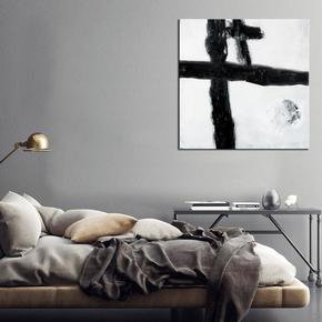 Want-For-Black-Lines-Painting-By-Julie-Robertson_United-Interiors_Treniq_0