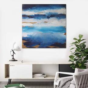 I'm-On-Cloud-9-Painting-By-Belinda-Nadwie_United-Interiors_Treniq_0