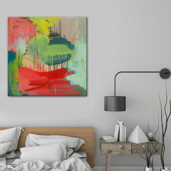 Eternal flame painting by carolyn o'neill united interiors treniq 1 1531106827522