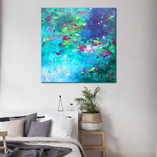 Romantic by nature painting by belinda nadwie united interiors treniq 1 1531108813596