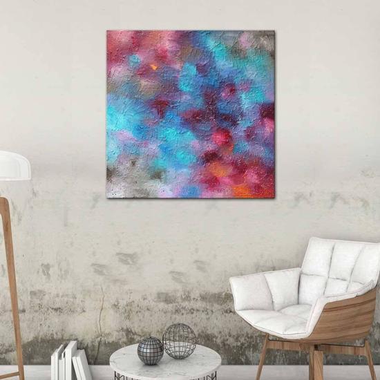 Soulful painting by belinda nadwie united interiors treniq 1 1531109037248