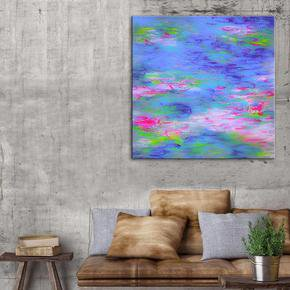 Summer-Lily-Painting-By-Belinda-Nadwie_United-Interiors_Treniq_0
