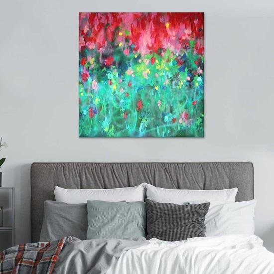 Summer passion painting by belinda nadwie united interiors treniq 1 1531109170728