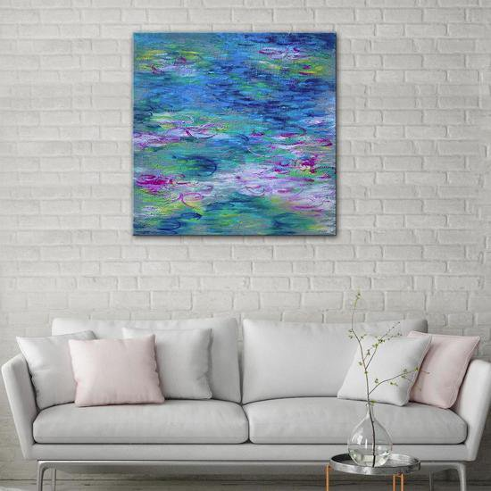 A touch of monet painting by belinda nadwie united interiors treniq 1 1531109349821