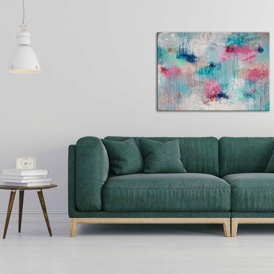 Make me blush painting by belinda nadwie united interiors treniq 1 1531109667311