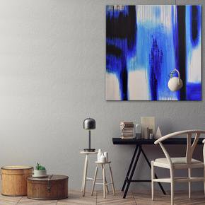 Beyonce-Blue-Painting-By-Belinda-Nadwie_United-Interiors_Treniq_0