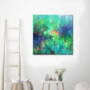 Endless-Summer-Painting-By-Belinda-Nadwie_United-Interiors_Treniq_0