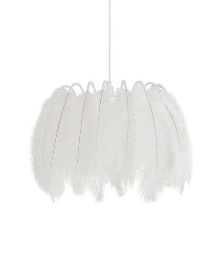All white feather pendant lamp mineheart treniq 1 1531666246339
