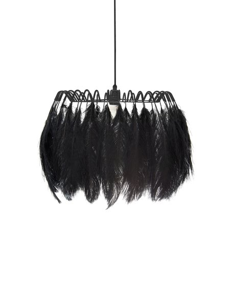 All black feather pendant lamp mineheart treniq 1 1531676973523