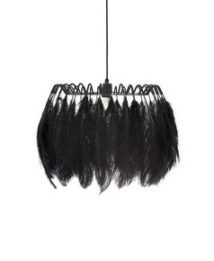 All-Black-Feather-Pendant-Lamp_Mineheart_Treniq_0