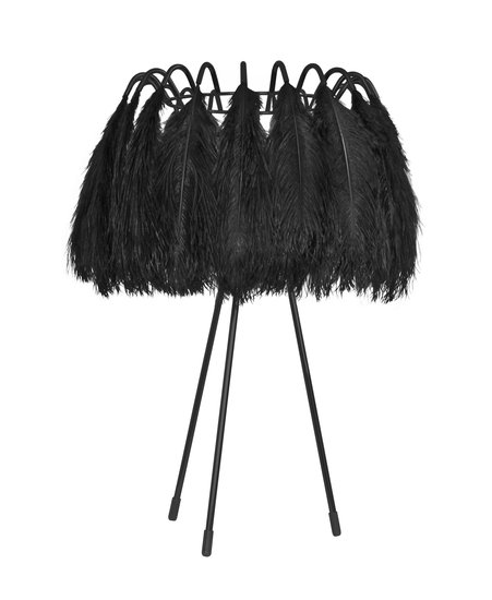 All black feather table lamp mineheart treniq 1 1531677801639