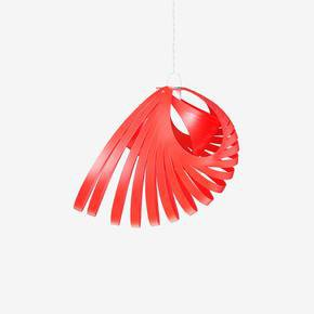 Nautica-Orange-Pendant-Shade_Kaigami_Treniq_1