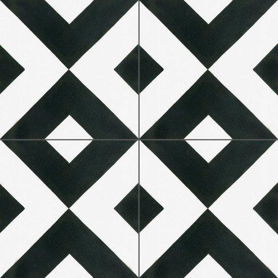 Cement tile checkered black original mission tile treniq 1 1531755893087