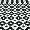 Cement tile checkered black original mission tile treniq 1 1531755893089