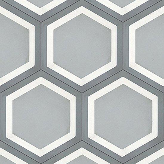Cement tile hex. frame gris original mission tile treniq 1 1531767194964