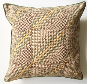 Multicoloured-Hand-Block-Printed-And-Embroidered-Cushion-Cover_Anokha-Collection_Treniq_0