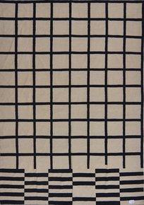 B-/-W-Kilim-Rug-Checked-Lines_Usman-Carpet-House_Treniq_0