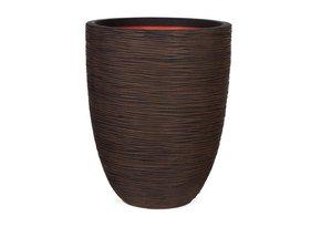 Round-Resin-Ribbed-Planter-By-Cadix-Capi-Tutch-Vase-Elegance-Low-Kbrr783_Get-Potted.Com_Treniq_0