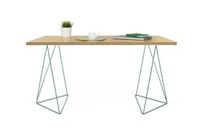 Flow-Desk-Oak-And-Green-Feet_Tema-Home_Treniq_0