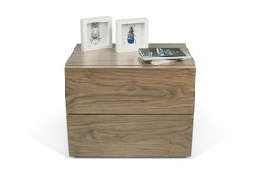 Aurora-Night-Table-2-Drawers-Walnut-Veneer_Tema-Home_Treniq_0