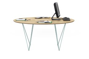 Row-150-Dining-Table-Oak-And-Green-Legs_Tema-Home_Treniq_0