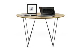 Row-120-Dining-Table-Oak-And-Black-Legs_Tema-Home_Treniq_0