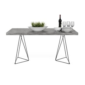 Multi-Desk-With-Trestle-Legs-160cm-Concrete-Look_Tema-Home_Treniq_0