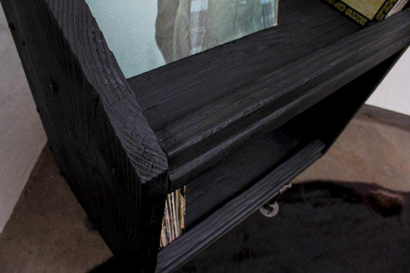 Maria charred scaffolding board   dark steel pipe record storage unit urban grain treniq 1 1533208627113