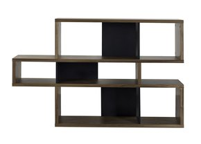 London-Bookcase-001-Walnut-And-Black-Backs_Tema-Home_Treniq_0
