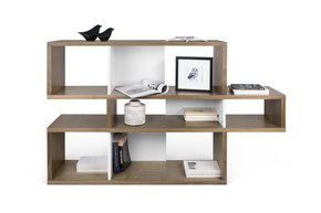 London-Bookcase-001-Walnut-And-White-Backs_Tema-Home_Treniq_0