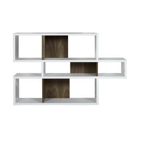 London-Bookcase-White-And-Walnut-Backs_Tema-Home_Treniq_0