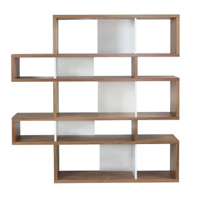 London-Bookcase-002-Walnut-And-White-Backs_Tema-Home_Treniq_0