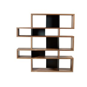 London-Bookcase-002-Walnut-And-Black-Backs_Tema-Home_Treniq_0