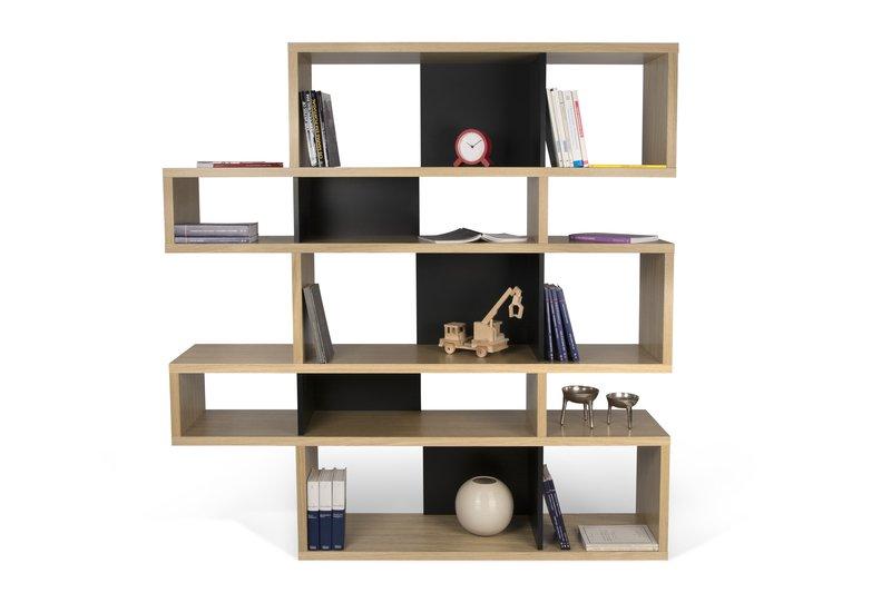London bookcase 002 oak and black backs temahome treniq 1 1533289430127
